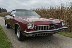 This 1973 Oldsmobile 442 is an original survivor with only minor rust issues. It's a car that you could enjoy immediately and restore at your leisure. #Oldsmobile