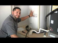 Drain water heater once a year. This video shows you how! #tutorial