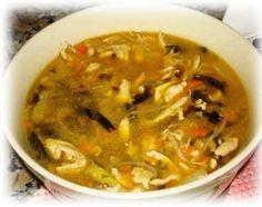 Sopa china de pollo con wakame de claudia Debelius con Thermomix