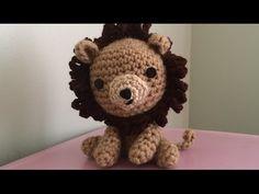 ▶ Tutorial on how to Crochet an Amigurumi Lion Part 1 - YouTube