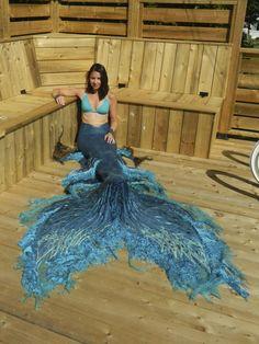 Realistic Mermaid Tails, Mermaid Tails For Kids, Mermaid Fin, Mermaid Swimsuit, Vampire Knight, Art Vampire, Real Mermaids, Mermaids And Mermen, Dengeki Daisy