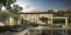 Modern klassieke villa Waalre, landhuis, woning, nieuwbouw