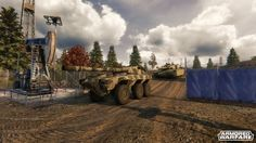 Armored Warfare - Details about the PVE [player versus environment mode]