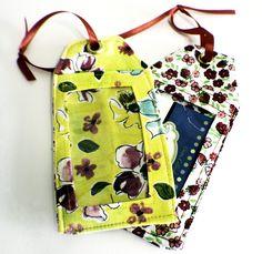 Sewing tutorial: DIY luggage tags