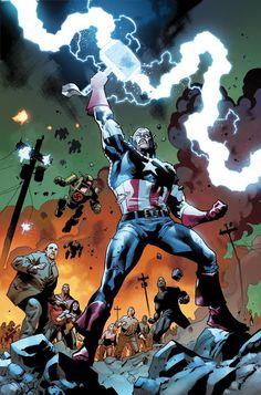 Captain America by Stuart Immonen