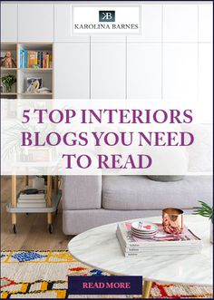 Looking for #interiors inspiration? Check out these 5 #colourful #blogs.