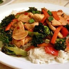 Spicy Chicken and Broccoli Stir Fry @ allrecipes.co.uk Eager to try this.