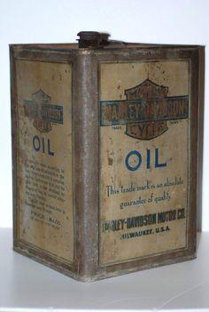 A Rare 1909 1 gallon motor oil can