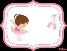 Resultado de imagen para invitaciones de bailarina de ballet bebe para imprimir