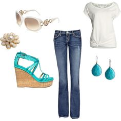 SUMMER!! need this outfit