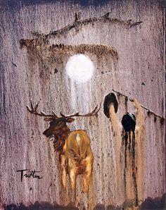 Elk Spirit    ::: patrick trotter