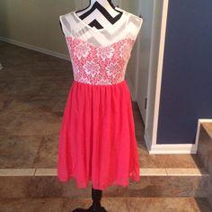 "Selling this ""Coral Dress"" in my Poshmark closet! My username is: nelnelann. #shopmycloset #poshmark #fashion #shopping #style #forsale #Dresses & Skirts"