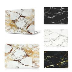 Case For MacBook With Marble Print - free shipping worldwide