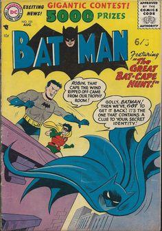 Batman 101 Comic Cover