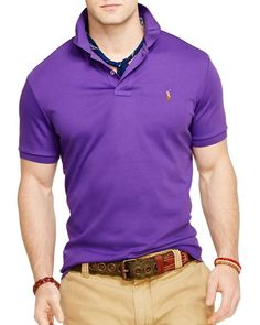 Polo Ralph Lauren Pima Soft Touch Classic Polo Shirt - Regular Fit
