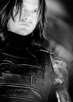 Sebastian Stan as Bucky Barnes AKA The Winter Soldier.