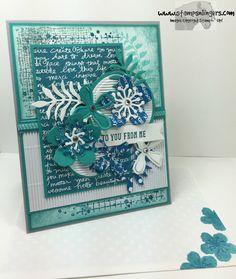 Timelessly Textured Botanical Builder 6 - Stamps-N-Lingers Stamping Up Cards, Digi Stamps, Creative Cards, Flower Making, Greeting Cards Handmade, Homemade Cards, Cardmaking, Stampin Up, Birthday Cards