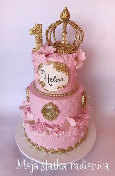 Cute And Easy Princess Cake Cakes Princess Tiaras
