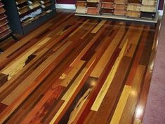 Wood Flooring Interior Design Ideas - Mismatched coloring