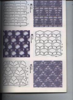 Captivating Crochet a Bodycon Dress Top Ideas. Dazzling Crochet a Bodycon Dress Top Ideas. Crochet Motifs, Crochet Diagram, Crochet Stitches Patterns, Crochet Chart, Love Crochet, Beautiful Crochet, Knitting Stitches, Crochet Designs, Stitch Patterns
