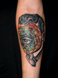Pietro Sedda - color wheel.. rarely do I pine after someone else's tattoo, but I want this one!