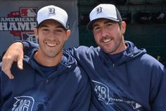 Hottest pitchers Detroit Tigers have: Rick Porcello (Left) and Justin Verlander (Right)