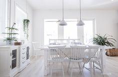 Keittiö // ruokailutila // kitchen // diningroom