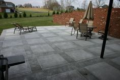 Would love this pattern on my patio!!