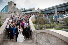Cambridge Mill Wedding | Stephen and Meaghan » Photography by Johanne  cute idea to get everyone in the picture!!