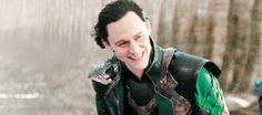 Loki Laufeyson, Fandral    Thor TDW    500px × 221px    #animated - Pinning for that look of glee now that he's freed.