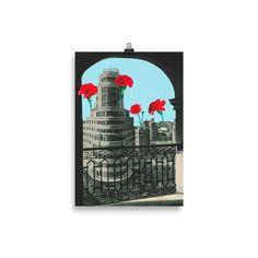 Lámina Collage Capitol | Cosa Bonita | Láminas para cuadros Collages, Carnations, Home Decoration, Pretty, Creativity, Illustrations, Hipster Stuff, Collage