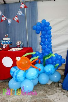Sailor/nautical Birthday Party Ideas | Photo 6 of 22