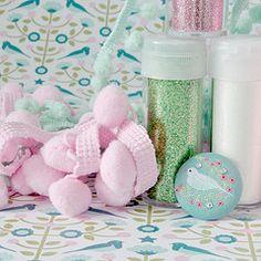 Winter Wonderland craft supplies