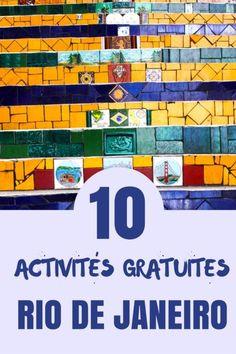 Bien que Rio de Janeiro ne soit pas la destination #1 pour les voyageurs à petites budgets, voici quelques idées d'activités gratuites à faire en ville.