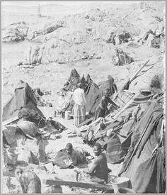 """Sharkisland Camp Acampamento de """"prisioneiros"""" de guerra."""