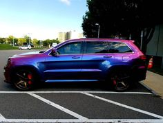 The is just awesome. Srt8 Jeep, Mopar Jeep, Jeep Cars, Audi Cars, Car Paint Colors, Jeep Grand Cherokee Srt, Lowered Trucks, Best Muscle Cars, Car Mods