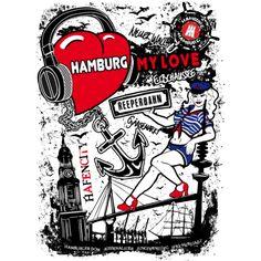 I Love Hamburg T-Shirt-CITY SHIRTS,Hamburg,Hamburg Wappen,Hamburger Wappen,Hansestadt Hamburg,I love,I love shirts,St Pauli,Städte T-shirt,hafen t-shirt,hamburg damen t-shirt,hamburg herren t-shirt,hamburg motiv,hamburg shirts,hamburg t,hamburg t-shirt,i am love hamburg,i love hamburg t-shirt,kiez t-shirt,love hamburg,michel hamburg,reeperbahn t-shirt,shirt hamburg,shirts hamburg-I Love Hamburg, das ist das Motto dieses Hamburg Motivs! Einzigartiges und aufwendiges Motiv mit zahlreichen…