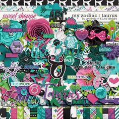 My Zodiac - Taurus by Amanda Yi & Juno Designs