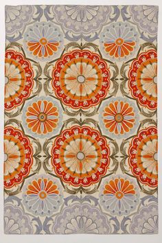 festival rug #anthropologie {i've had a crush on this rug for a long, long time}