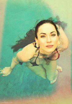Megan Fox hot girls celebrities female celebs water movies pool