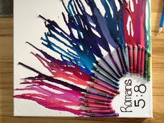 Alyssa's crayon art