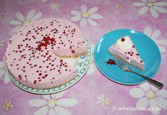 Kwarktaart met rode bessen (3)