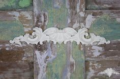 French Regency Swag Furniture Appliques Shabby Chic Mouldings Onlay Trim Embellishment Vintage Fireplace Pediment Molding by ChicMouldings on Etsy https://www.etsy.com/listing/203116098/french-regency-swag-furniture-appliques