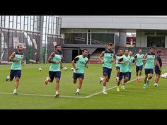 FOOTBALL -  FC Barcelona - Entrenament 22/08/2013 - http://lefootball.fr/fc-barcelona-entrenament-22082013/