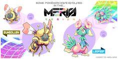 Meris Region Pokemon 13 by Wabatte-Meru