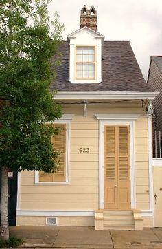 2-bay Creole cottage, New Orleans, LA