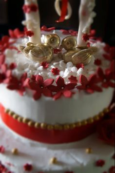 #engagement #lovebirds #flowers #magical