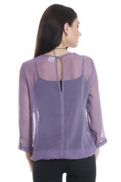 Violet Candy Shop Top