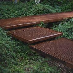 Farum Midtpunkt Activity park « Landscape Architecture Platform | Landezine Landscape Stairs, Park Landscape, Landscape Architecture, Landscape Design, Garden Design, Small Courtyard Gardens, Small Gardens, Garden Steps, Garden Paths