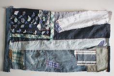 DIY denim American {inspired} flag use your scraps! via @jessica wilson